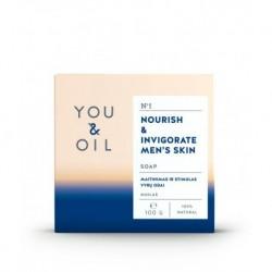 YOU & OIL férfi bőrerősítő szappan