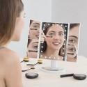 InnovaGoods nagyító tükör LED-del, 4 az 1-ben