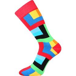 Voxx uniszex zokni - négyszögek