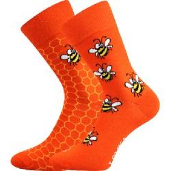 Lonka női zokni - méhek