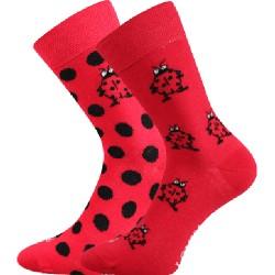 Lonka női zokni - katicabogár