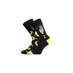Lonka uniszex zokni - majom