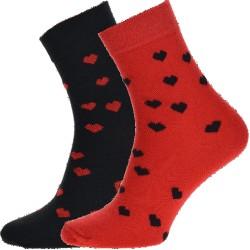 WiTSocks uniszex zokni - szívek