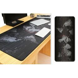 Alátét íróasztalra - világtérkép - 40 x 90 cm
