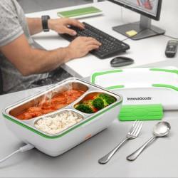 InnovaGoods elektromos ételtartó - 50 W - fehér-zöld