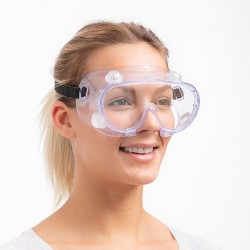 Panorámás védőszemüveg
