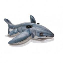 Intex felfújható ülőke gyerekeknek - cápa
