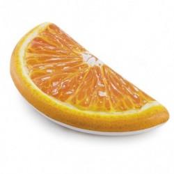 Intex felfújható matrac - narancs szelet