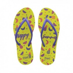 Dupé női strandpapucs - Happy Summer - 37-38 méret