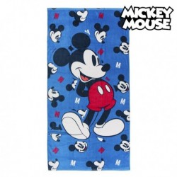 Pamut strandlepedő 75491 - Mickey Mouse - kék