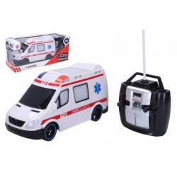 RC autó - mentő - 27 MHz - 20 cm