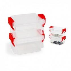 Confortime egymásba tehető hermetikusan zárható doboz készlet - 2 db