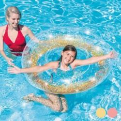 Intex úszógumi - arany flitterek - 119 cm