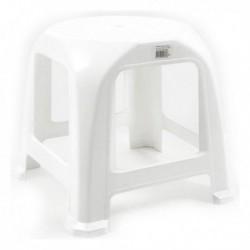 Step műanyag szék - 34 x 34 x 31 cm - fehér