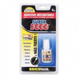 Bricotech Super 5000 pillanatragasztó + ecset - 8 g