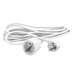 Schuko Silver Electronics hosszabbító kábel - fehér - 3 m