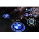 LED projektor autómárka logó - 2 db