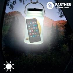 Partner Adventures szilikon edény napelemes lámpával