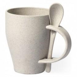 Bögre pohárral bambuszszálból 146549 - 400 ml