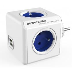 Allocacoc Powercube elosztó USB portokkal – kék