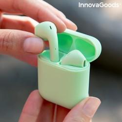 InnovaGoods NovaPods vezetéknélküli fülhallgató mágneses töltéssel