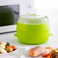 InnovaGoods Fresh kétpatronos pároló mikrohullámú sütőbe