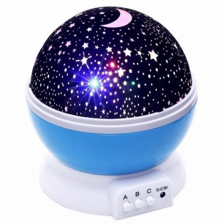 Éjszakai égbolt projektor