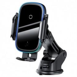 Baseus vezeték nélküli töltő autóba WXHW03-01 - 15 W - fekete