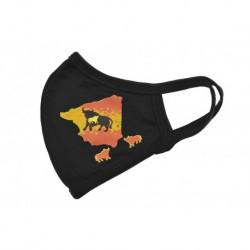 Textil szájmaszk - Spanyol bika - 1 db