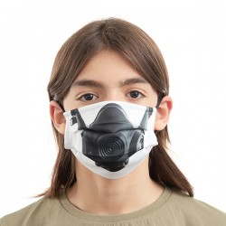 Luanvi többhasználatos szájmaszk - gázmaszk - 3 db - M méret
