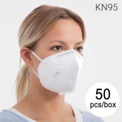KN95 önszűrő légzésvédő 5 réteggel - 50 db