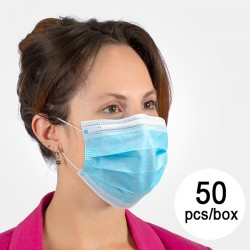 NS háromrétegű egyhasználatos szájmaszk - 50 db