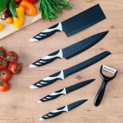 Cecotec Top Chef késkészlet - 6 db - fekete