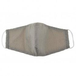 Textil többhasználatos szájmaszk - kockás