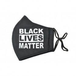 Textil többhasználatos szájmaszk - BLACK LIVES MATTER