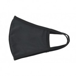 Textil többhasználatos szájmaszk - fekete - 1 db