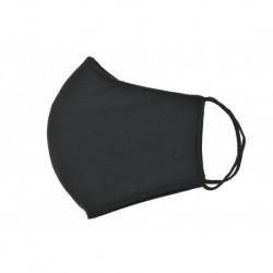 Textil többhasználatos szájmaszk - fekete