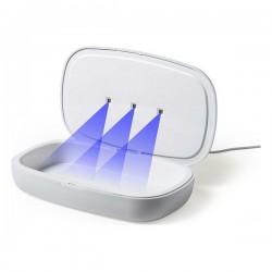 UV-sterilizátor 146670 - integrált vezeték nélküli töltővel - fehér