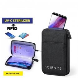 Telefon- és kártyatok UV sterilizátorral 146674 - fekete