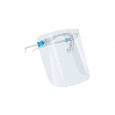 Obličejový ochranný štít s brýlovými obroučkami