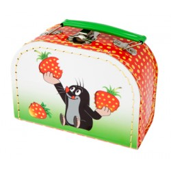 Kazeto koffer rajzórára - Kisvakond és eper - kicsi