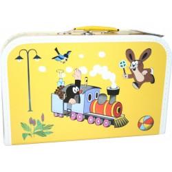 Kazeto koffer rajzórára - A kisvakond és a mozdony - nagy