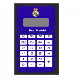 Számológép F.C. Real Madrid logóval - kék-fehér