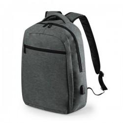 Univerzális hátizsák USB porttal 146453 - szürke