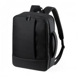 Hátizsák és laptoptáska egyben 146509 - 2in1 - fekete