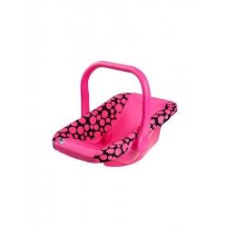 PlayTo autósülés játékbabának - rózsaszín