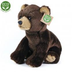 Rappa plüss medve - ülő - 25 cm