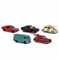 Simba vintage autó ajándékcsomag - rozsdás változat - 5 db