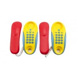 Rappa műanyag vezetékes játéktelefonok