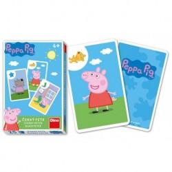 Dino Toys Fekete Péter kártyajáték - Peppa malac